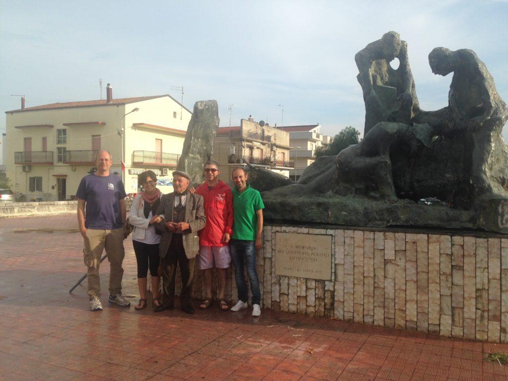 Matthias Durchfeld, Mariangela Belloni, Domenico Giannace, Renato Moschetti e Giuseppe Cisterna